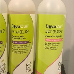 Deva Curl Arc Angel and Mister Right